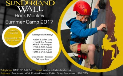 ROCK MONKEY SUMMER CAMP  2017